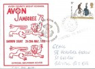 1978 Cycling Centenary, Avon County Scout Council Official Souvenir FDC, Royal Engineers Field Post Office 999 cds