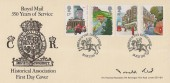 1985 Royal Mail, Historical Association FDC, First Day of Issue Bagshot Surrey H/S, Signed by Donald Read.