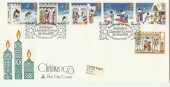 1973 Christmas Mercury FDC,  First Day of Issue Bethlehem Llandeilo Carms. H/S