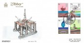 1978 Energy, Abbey FDC, Forties Field BP Aberdeen Contribution to Britain's Energy H/S