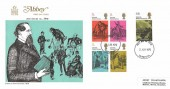1970 Literary Anniversaries, Abbey FDC, Liverpool FDC
