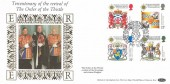 1987 Scottish Heraldry, Benham Star FDC, Revival of the Order of the Thistle Tercentenary Edinburgh H/S