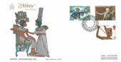 1972 General Anniversaries, Abbey FDC, London EC H/S
