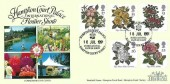 1991 Rose, Hampton Court Palace International Flower Show H/S, Official Covercraft FDC