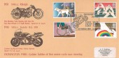 1981 Year of the Disabled, Donington Park 1931-1981 Derby  H/S, Official Donington Park FDC