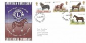 1978 Shire Horse Society, Amersham Horse Show FDC, Aylesbury Bucks. FDI