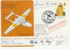 1976 Mosquito Aircraft Museum Cover Signed by Douglas Bader & Others.