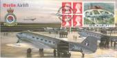1999 Berlin Airlift, Official Bradbury FDC, RAF Lyneham Chippenham Wiltshire H/S