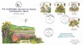 1986 Nature Conservation, Hampshire & Isle of Wight Naturalists' Trust FDC, Selborne Alton Hants cds