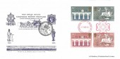 1984 Europa, Bradbury 1890 Uniform Penny Post FDC, National Postal Museum H/S