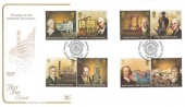 2009 Industrial Revolution, Cotswold FDC, George Stephenson Industrial Pioneer Shildon Co. Durham H/S