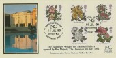 1991 Roses, Covercraft National Gallery Official FDC, National Gallery Sainsbury Wing London WC2 H/S