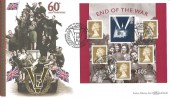 2005 End of the War, Benham BLCS305 Official FDC, The End of World War II 60th Anniversary Whitehall London SW1 H/S