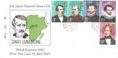 1973 British Explorers, 7th Signal Regiment Stamp Club FDC, Field Post Office 1035 cds.