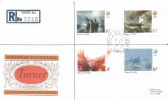 1975 Turner, Registered PO FDC, Turner's Hill Crawley Sussex cds, Scarce.