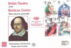 1982 British Theatre, Barbican Centre Official FDC, Barbican Centre Where The Arts Come to Life London EC2 H/S.