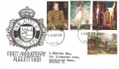 1968 British Paintings, Bristol Police Philatelic Section FDC, Bristol FDI, Scarce.