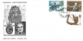 1972 General Anniversaries, Croydon Covers FDC, Croydon FDI, Scarce.