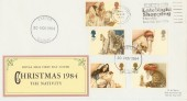 1984 Christmas Exeter Late Night Shopping Thursday Slogan FDC