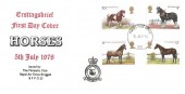 1978 Shire Horse Society, RAF Bruggen, Forces Post Office cds.