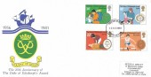 1981 Duke of Edinburgh's Award, County of Devon Duke of Edinburgh's Award FDC, South Devon FDI.