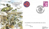 1993 Royal Corps of Signals Museum Cover, The Battle of Cambrai 1917, Signed Field Marshal The Lord Carver CBE, JS(AC)82.
