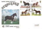1978 Horses, Shire Horse Society Centenary Cover, First Day of Issue Philatelic Bureau Edinburgh H/S.