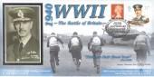 2000 60th Anniversary of the Battle of Britain, Benham BWW07 Cover, 60th Anniversary The Battle of Britain World War II Uxbridge H/S.