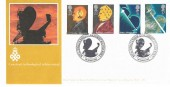 1991 Scientific Achievements, Royal Signals & Radar Establishment, Arlington Official FDC, Royal Signals & Radar Establishment Malvern Worcs. H/S.