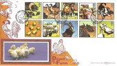 2005 Farm Animals, Benham BLCS293b Official FDC, Farm Animals Frampton Boston Lincolnshire H/S