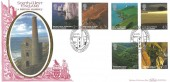 2005  South West England, Benham BLCS294b Official FDC, South West England a British Journey St Agnes Cornwall H/S.