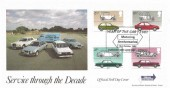 1982 British Motor Cars, Havering Highway Windscreens Official FDC, Year of the Car 1982 Woodford Green Essex H/S.