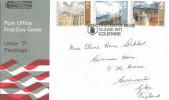 1971 Ulster Paintings, Post Office FDC, First Day of Issue Coleraine H/S, Scarce.