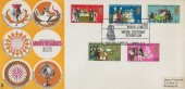 1970 General Anniversaries, Trident FDC, Florence Nightingale Memorial Committee 150th Birthday Exhibition London SE1 H/S.