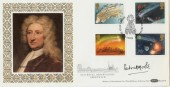 1986 Halley's Comet Benham BLCS10 FDC. Signed by Patrick Moore