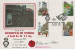 1985 The Royal Mail, Royal British Legion FDC, 40 Years of Reconciliation & Peace London SW1 H/S, Signed.