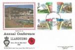 1984 Urban Renewal, Royal British Legion  Annual Conference Llandudno FDC,Llandudno Gwynedd FDI