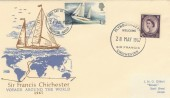 1967 Sir Francis Chichester Doubled Dated Welcome Home FDC, Brighton FDI