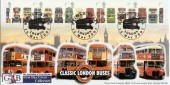 2001 Buses GBFDC No.5 Official FDC