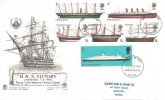 1969 British Ships, Scarce Version Stuart FDC, Portsmouth FDI.