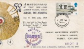 1969 Notable Anniversaries, Paisley Rocketeers' Society FDC, 5d only, Paisley FDI.