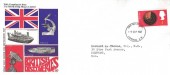 1967 British Discoveries, British Drug Houses Ltd. FDC, 4d only London SW FDI.