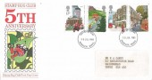 1985 The Royal Mail, Stamp Bug Club FDC, Windsor Berks. FDI.
