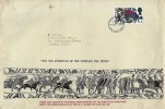 1966 Battle of Hastings, Sheaffer Pen Co. Ltd. FDC, 4d stamp only, Kingston Upon Thames FDI.