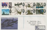 1965 Battle of Britain, Registered GPO FDC, Albert Cross Glasgow cds.