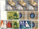 Pack of Assorted Mint GB Postage, fully gummed, unused GB Commemorative Stamps, 20% discount.