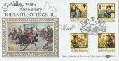 1992 English Civil War Official FDC Flown & Signed