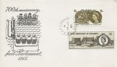 1965 700th Anniversary of Parliament, Illustrated FDC, RAF PO Bicester Oxon cds.