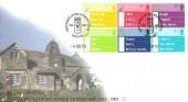 2003 Occasions, Buckingham Covers Official FDC, Centenary of the Old Post Office Tintagel H/S