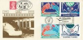1994 Channel Tunnel, Streetly Philatelic Society FDC, Le Shuttle Folkestone to Calais Slogan, doubled with 25th Anniversary Streetly Philatelic Society